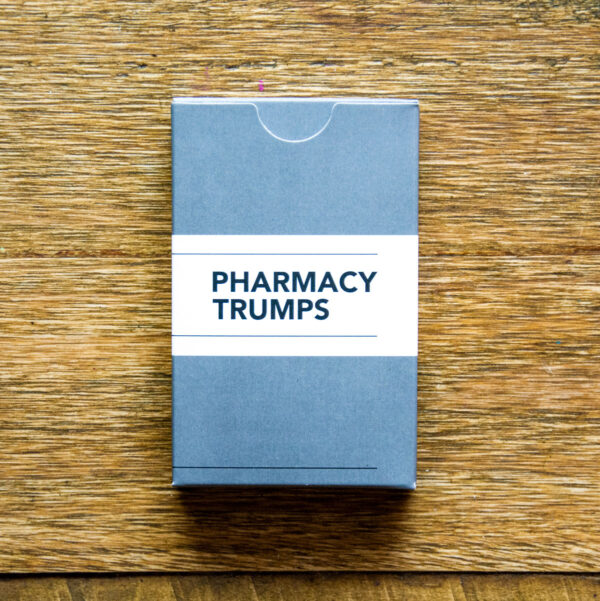 DOSE Publishing Pharmacy Trumps Card Game Pack Front