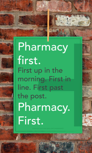 DOSE Publishing Believe Poster Series Pharmacy First